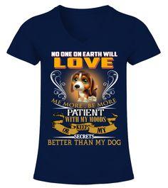 My Beagle Love Me So Much