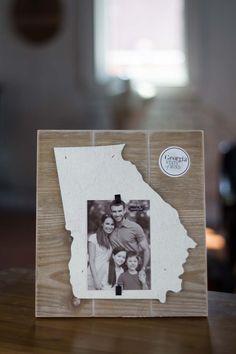 Georgia State Picture Frame