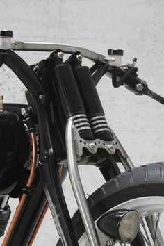 Krugger Motorcycle Custom Motorcycles, Custom Bikes, Cars And Motorcycles, Gabel, Bike Design, Motorcycle Accessories, Cool Bikes, Bobber, Motorbikes