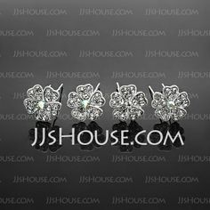 Headpieces - $9.99 - Hairpins Wedding Special Occasion Casual outdoor Rhinestone Silver Headpieces With White-4 piece (042017910) http://jjshouse.com/Hairpins-Wedding-Special-Occasion-Casual-Outdoor-Rhinestone-Silver-Headpieces-With-White-4-Piece-042017910-g17910