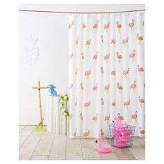 Patti Wagner Designer; Lindsey O'Connor Illustrator   Flamingo Shower Curtain Ivory - Pillowfort™ : Target