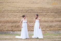#TwoBrides #Lesbian #Wedding #SameLove #EqualLove #GayWedding #MarriageEquality Photography by Cassandra Zetta