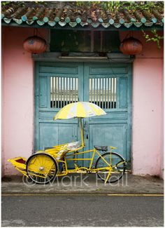 Places we'd been to; lived in: Penang, Malaysia