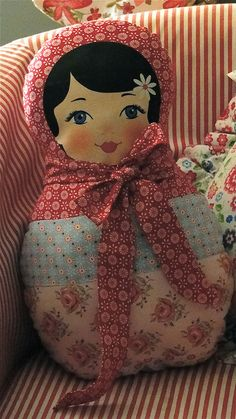 matryoshka pillow
