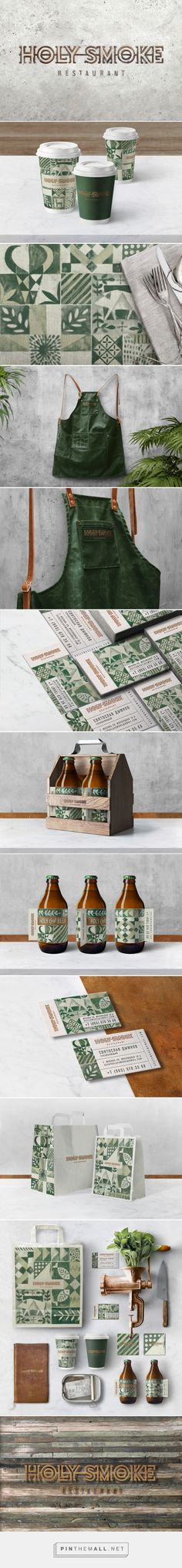 HOLY SMOKE Restaurant on Behance - created via https://pinthemall.net