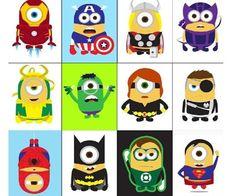 Minions Superheros