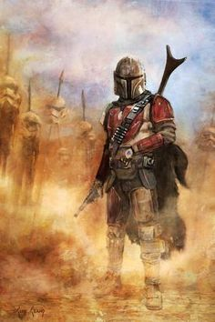 "Star Wars: The Mandalorian interpretive artwork Available in an unsigned paper or signed canvas edition  Giclee on Paper edition:  - $89.00 - 150 piece hand-numbered edition - measures 13"" x 19"" (paper size), 11"" x 16.5"" (image size) - sku: SWM1188P  Giclee on Canvas edition:  - $300.00 - 95 piece hand-numbered signed edition - measures 16"" x 24"" - sku: SWM1188  Editions come with certificate of authenticity"