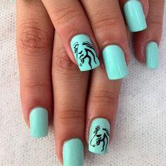 63 Mejores Imágenes De Uñas Decoradas Gorgeous Nails Pretty Nails