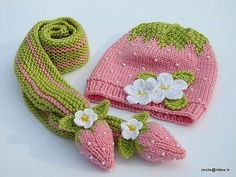 Gorro e cachecol de tricot para o friiiiioooo - Rendas & Botões