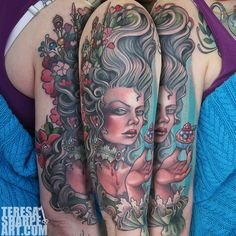 Teresa Sharpe Tattoo | Teresa Sharpe