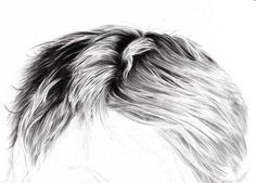 3D art drawings and tutorials | Art - Tutorial - Drawing Hair : Amanda Tapping - Step 4