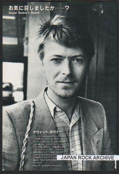 David Bowie's Beard