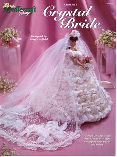 Crochet+Crystal+Bride+Pattern+-+The+Needlecraft+Shop+981004