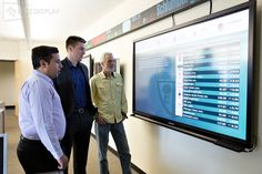 cal poly san luis obispo  - interactive . marketwall and LED ticker