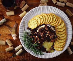 Nothing better that ooey gooey cheese. Grab this recipe for your next holiday party! Baked Brie, First Bite, Melted Cheese, Holiday Parties, Fork, Holiday Recipes, Dip, Tasty, Classic