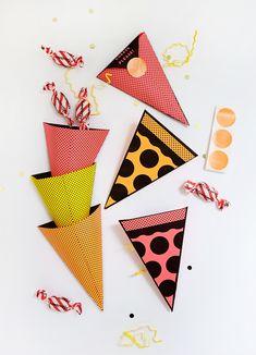 Printable Pizza Treat Pockets