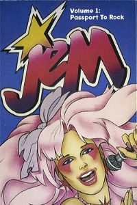 Friday Finds, 80's Cartoon Style: Jem Rock Star Costume