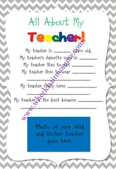 End of year teacher gift -- such a sweet idea!!! Great idea for a card!!