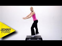 STEP AEROBICS - 'Step by Step 2' - Jenny Ford - YouTube.  Train #Aerobic Jenny Ford, Louise Wilson, Step Aerobics, Trends, Fitness, Youtube, Exercise, Train, Running