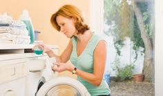 Clean your washing machine.