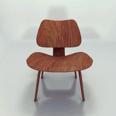 Cadeira Eames Plywood - Charles e Ray Eames