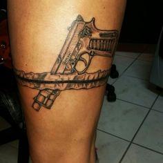 Tattoo Pistole guntattoo tattoogun strumpfband