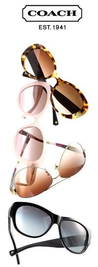 Coach Sunglasses ♥✤ | Keep the Glamour | BeStayBeautiful