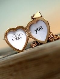 <3 I would love for my husband to get me a  locket with mine n his picture in it.. :) SO CUTE and Thoughtful <3