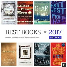 And here are top 20 best books of 2017 selected by Amazon editors