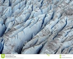 Crevasses and Seracs form in the zone of Brittle Flow. Description from…