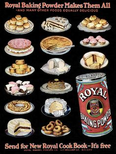 Royal Baking Powder -1922 - some of these old ads are gorgeous