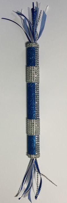 Cheerleading Spirit Stick Cheer Stick Blue by GlitzyGirlzGifzs