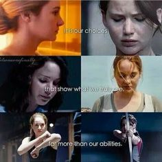 The Hunger Games and Divergent
