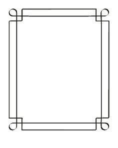 Wedding Borders For Invitations Reference For Wedding Decoration - Wedding Borders For Invitations Frame Border Design, Page Borders Design, Drawing Borders, Wedding Borders, Boarders And Frames, Doodle Frames, Free Adult Coloring, Simple Borders, Decorative Borders