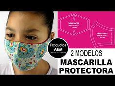 TAPA BOCA    MASCARILLA PROTECTORA    PATRÓN GRATIS    PRODUCTOS A&M - YouTube Small Sewing Projects, Sewing Hacks, Sewing Crafts, Easy Face Masks, Diy Face Mask, Mascarilla Diy, Holiday Gift Tags, Mouth Mask, Sewing Accessories
