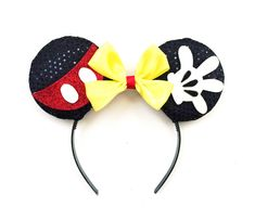 A personal favorite from my Etsy shop https://www.etsy.com/listing/277881692/classic-mickey-ears-mickey-mouse-ears
