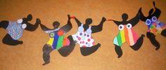 Werken in de stijl van een kunstenaar. :: Kunst & Kolder dansende Nana's in de stijl van Niki de St.Phalle