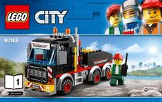 View LEGO instructions for Heavy Cargo Transport set number 60183 to help you build these LEGO sets