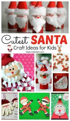 Oh what a gorgeous diverse set of Santa Craft Ideas for Kids! Love how stinking cute these Father Christmas DIYs are indeed. Check them out today and get making!!!! #Santa #Santacrafts #santadiy #santadiys #crafts #craftsforkids #Christmas #fatherchristmas