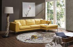 J&M Furniture | J&M Futon | Modern Furniture Wholesale | New York NY | New Jersey NJ :: Premium Leather Sectionals :: Soleil Premium Leather Sectional
