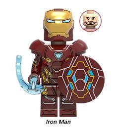 Iron Man Avengers, Lego Iron Man, Lego Marvel's Avengers, Lego Man, Lego Custom Minifigures, Lego Minifigs, Lego Machines, Amazing Lego Creations, Vw Touran
