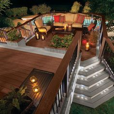 Deck Off The Back Of The House   Would It Be Easier Than Leveling Dirt U0026  Laying Pavers / Concrete | Garden | Pinterest | Decks, Decking And Drought  Tolerant ...