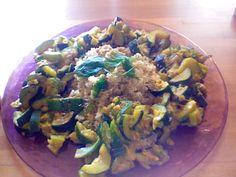 Quinoa e zucchine curry – Ricette Vegan – Vegane – Cruelty Free