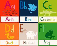 Alphabet Frieze by Miriam Bereson