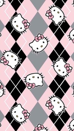 Wallpaper iphone disney pattern hello kitty 48 new Ideas Hello Kitty Iphone Wallpaper, Hello Kitty Backgrounds, Sanrio Wallpaper, Wallpaper Iphone Disney, Hello Kitty Themes, Hello Kitty Pictures, Animal Print Wallpaper, Whatsapp Wallpaper, Hello Kitty Collection
