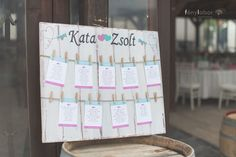 Pink és Menta szerelem a birtokon - VintageChics Kata és Zsolt pink és menta esküvő, rókusfalvy birtok esküvő, pink, mint wedding, winecellar wedding ültetési rend, seating chart