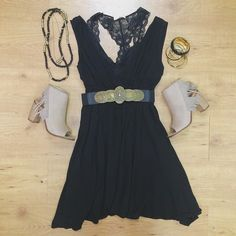 The classic LBD! Do you have one in your closet? #studio1220 #lbd #littleblackdress #spring #newarrivals #romantic