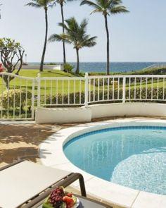 The Fairmont Kea Lani, private 2 bedroom oceanfront villa with pool - Wailea, Hawaii #Jetsetter