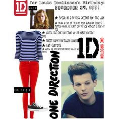 For louis tomlinson s birthday quot by catlyp on polyvore