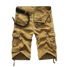 Shorts men clothing short masculino Male Fashion Army Work Shorts Cargo Casual Camouflage Summer Brand Clothing Plus Size Army Shorts, Military Shorts, Men Shorts, Loose Shorts, Mens Work Shorts, Surf Shorts, Shorts Sale, Cropped Pants, Bermuda Shorts